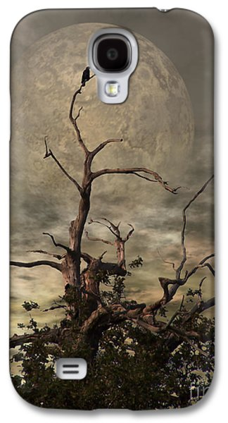 Grunge Galaxy S4 Cases - The Crow Tree Galaxy S4 Case by Isabella F Abbie Shores LstAngel Arts