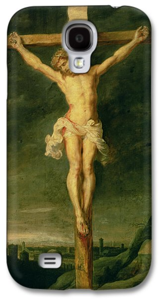 Crosses Photographs Galaxy S4 Cases - The Crucifixion Oil On Canvas Galaxy S4 Case by Peter Paul Rubens