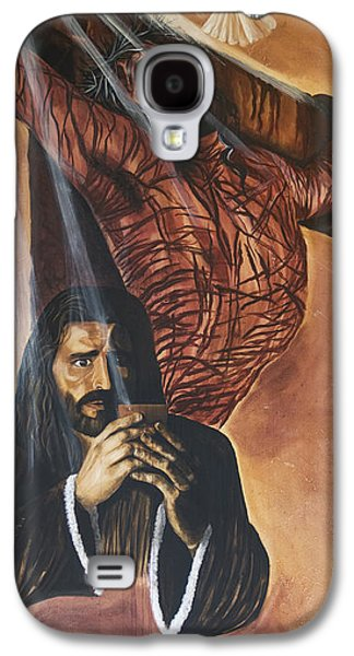 Crucifixtion Galaxy S4 Cases - The Cup Galaxy S4 Case by Renee Nolan-Riley