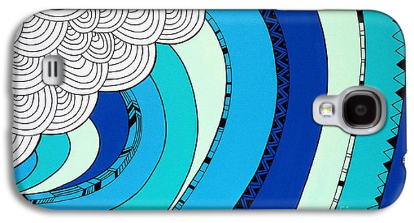 The Curl Galaxy S4 Case by Susan Claire