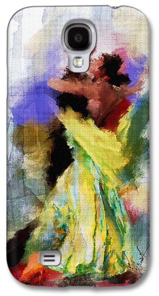 Dance Floor Paintings Galaxy S4 Cases - The Dance Galaxy S4 Case by Robert Smith