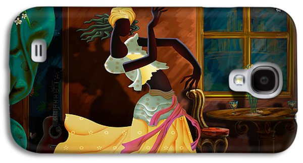 Digital Design Galaxy S4 Cases - The Dancer Act 1 Galaxy S4 Case by Bedros Awak