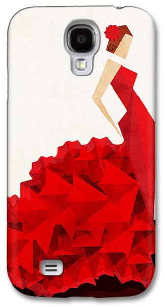 Dressed Galaxy S4 Cases - The Dancer Flamenco Galaxy S4 Case by VessDSign