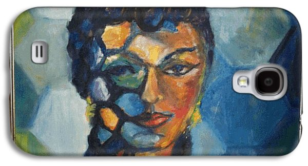 Behind The Scenes Paintings Galaxy S4 Cases - The Dancer Galaxy S4 Case by Jan Statman
