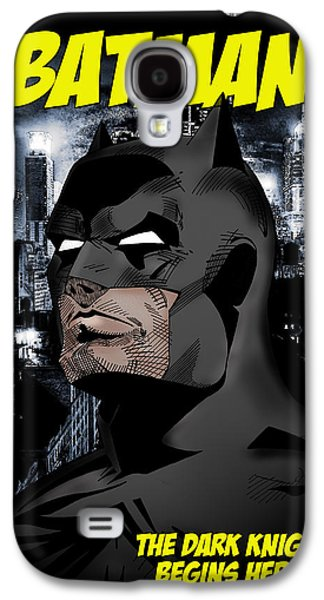 Knight Photographs Galaxy S4 Cases - The Dark Knight Begins Here Galaxy S4 Case by Mark Rogan
