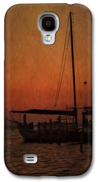 Sailboats Docked Galaxy S4 Cases - The Day is Done Galaxy S4 Case by Kim Hojnacki