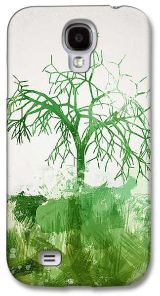 Nature Abstracts Galaxy S4 Cases - The Dead Tree Galaxy S4 Case by Aged Pixel