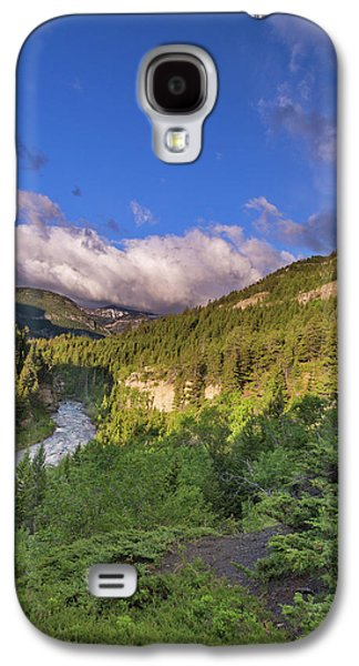 The Dearborn River In The Lewis Galaxy S4 Case by Chuck Haney