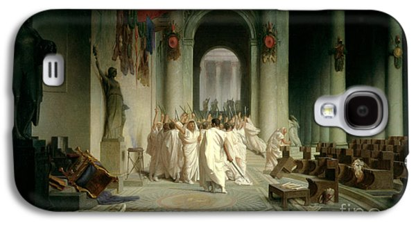 The Death Of Caesar Galaxy S4 Case by Jean Leon Gerome