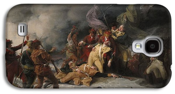 Death Galaxy S4 Cases - The Death Of General Montgomery In The Attack On Quebec, December 31, 1775, 1786 Oil On Canvas Galaxy S4 Case by John Trumbull