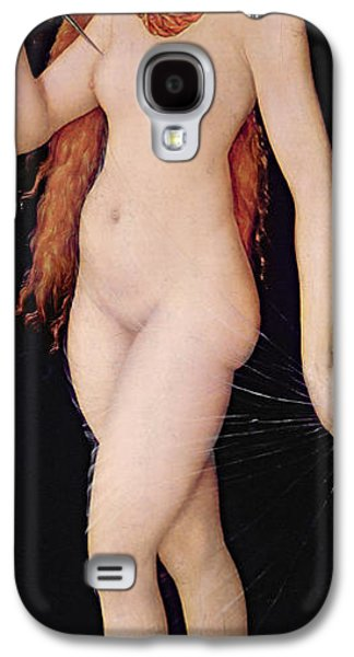 Ancient Galaxy S4 Cases - The Death of Lucretia Galaxy S4 Case by Lucas the elder Cranach