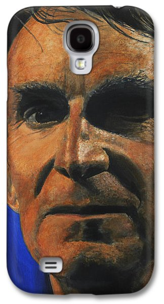 Creationism Galaxy S4 Cases - The Debater- Bill Nye  Galaxy S4 Case by Simon Kregar