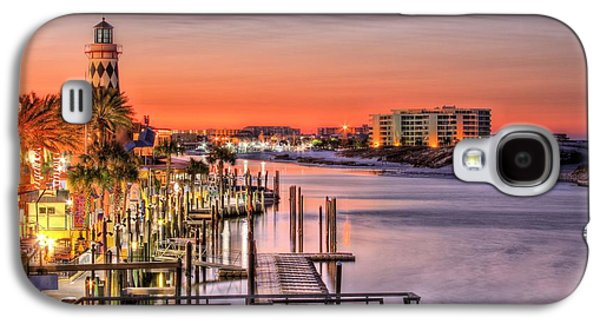 Florida Panhandle Galaxy S4 Cases - The Destin Harbor Walk Galaxy S4 Case by JC Findley