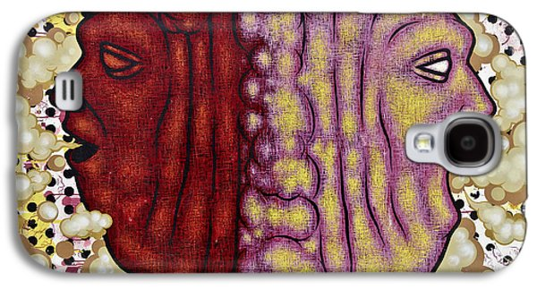 Inner Self Galaxy S4 Cases - The Devil in Me Galaxy S4 Case by Ray Evans