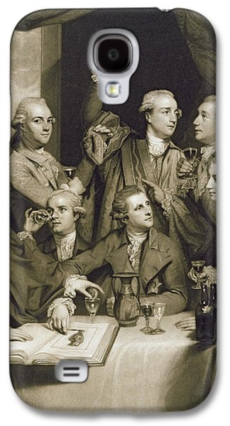 Connoisseur Galaxy S4 Cases - The Dilettanti Society, Engraved By William Say, 1812 Mezzotint On Paper Galaxy S4 Case by Sir Joshua Reynolds