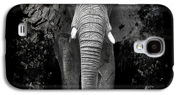 Tusk Galaxy S4 Cases - The Disappearance of the Elephant Galaxy S4 Case by Erik Brede