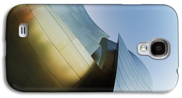 Metal Sheet Galaxy S4 Cases - The Disney Concert Hall 14 Galaxy S4 Case by Micah May