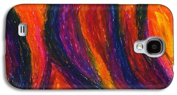 Daina White Galaxy S4 Cases - The Divine Fire Galaxy S4 Case by Daina White