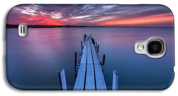 Simplistic Galaxy S4 Cases - The Dock I Galaxy S4 Case by Peter Tellone