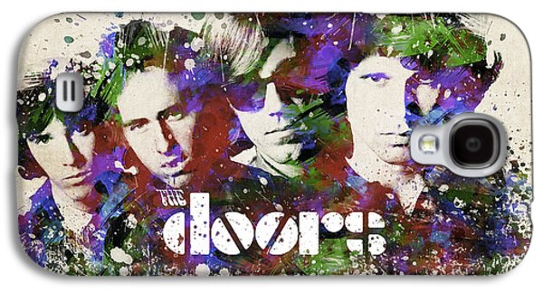 Famous Band Galaxy S4 Cases - The Doors Portrait Galaxy S4 Case by Aged Pixel