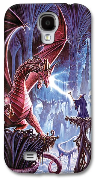 The Dragons Lair Galaxy S4 Case by Steve Crisp
