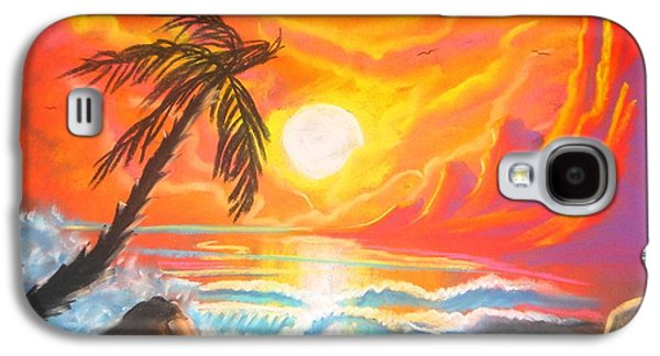 Dreamscape Pastels Galaxy S4 Cases - The Dream #03 Galaxy S4 Case by Shaun Hays