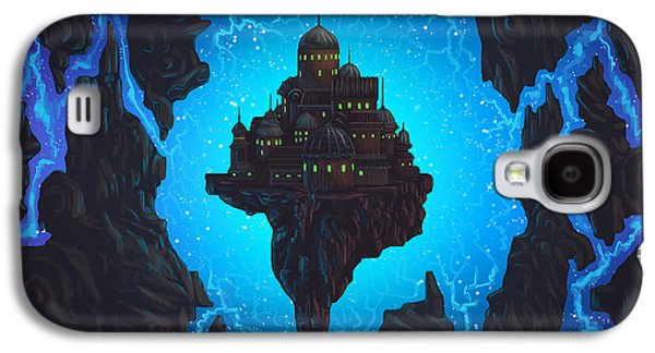 Phantasie Digital Art Galaxy S4 Cases - The Dream Fissure Galaxy S4 Case by Cassiopeia Art