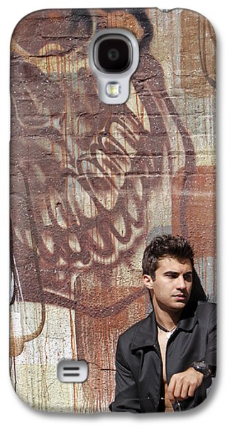 Mural Pyrography Galaxy S4 Cases - The Dream Killer Galaxy S4 Case by Shoal Hollingsworth