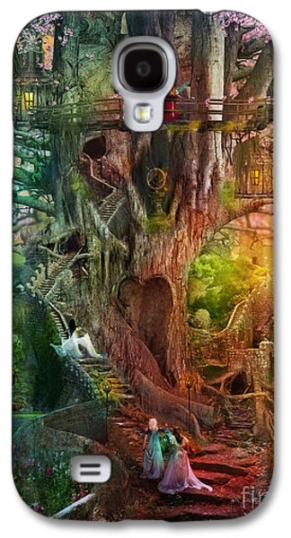 Fantasy Photographs Galaxy S4 Cases - The Dreaming Tree Galaxy S4 Case by Aimee Stewart