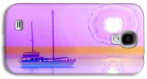 Seascape Digital Galaxy S4 Cases - The Drifters Dream Galaxy S4 Case by Holly Kempe