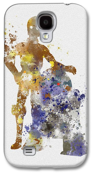 The Droids Galaxy S4 Case by Rebecca Jenkins