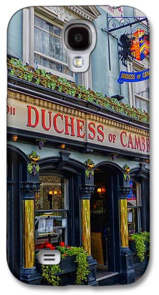 Duchess Of Cambridge Galaxy S4 Cases - The Duchess of Cambridge Pub - Windsor England Galaxy S4 Case by Mountain Dreams