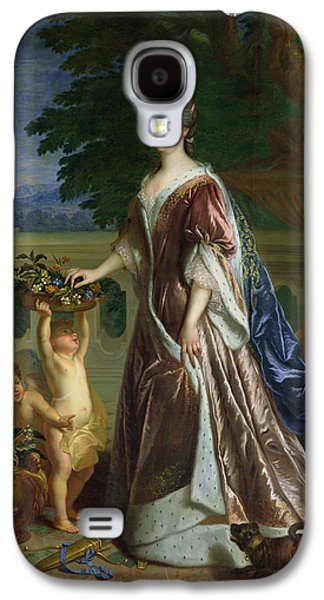 Cupid Galaxy S4 Cases - The Duchess Of Maine 1676-1753 Oil On Canvas Galaxy S4 Case by Francois de Troy