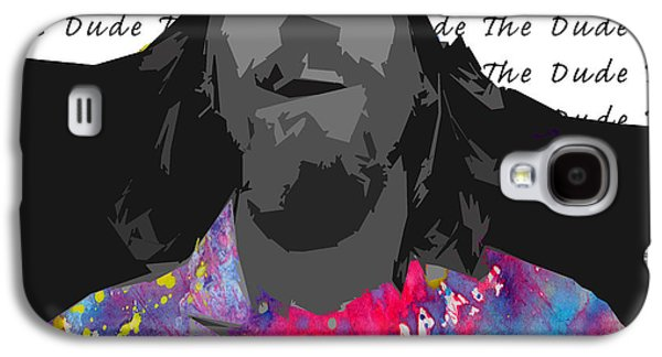 Mix Medium Galaxy S4 Cases - The Dude  Galaxy S4 Case by Jerry Cordeiro
