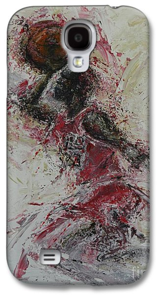 Nike Paintings Galaxy S4 Cases - The Dunk  Galaxy S4 Case by Dan Campbell