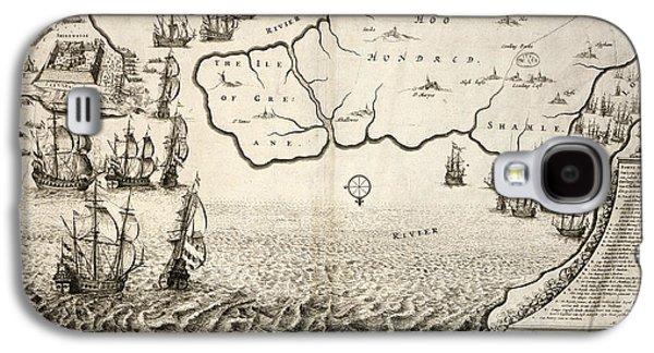 The Dutch Fleet Galaxy S4 Case by British Library