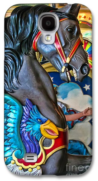 Original Photographs Galaxy S4 Cases - The Eagle and Horse Galaxy S4 Case by Colleen Kammerer