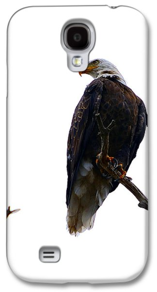 Rare Moments Galaxy S4 Cases - The Eagle and The Hummingbird Galaxy S4 Case by Tranquil Light  Photography