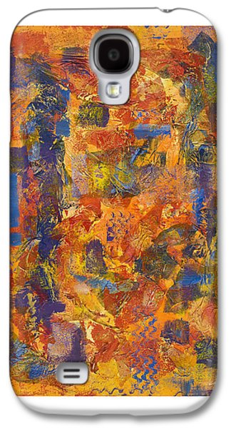 Abstract Digital Paintings Galaxy S4 Cases - The Edge Galaxy S4 Case by Craig Tinder