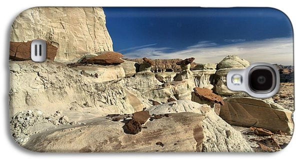 Surreal Landscape Galaxy S4 Cases - The Edge Of Erosion Galaxy S4 Case by Adam Jewell
