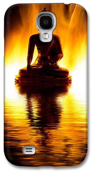 Thoughtful Photographs Galaxy S4 Cases - The Elemental Buddha Galaxy S4 Case by Tim Gainey