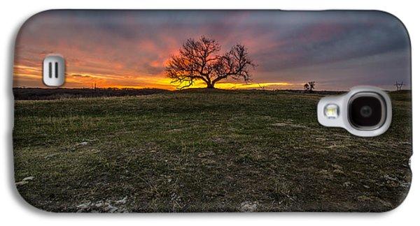 Mounds Galaxy S4 Cases - The Eminija Mounds dusk version Galaxy S4 Case by Aaron J Groen