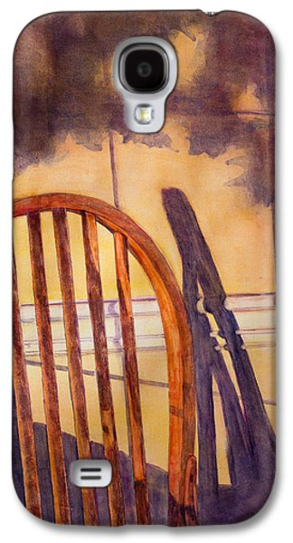 Janet Felts Galaxy S4 Cases - The Empty Chair Galaxy S4 Case by Janet Felts
