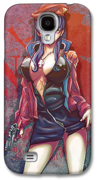 Digital Drawings Galaxy S4 Cases - The End Of Evangelion Galaxy S4 Case by Tuan HollaBack