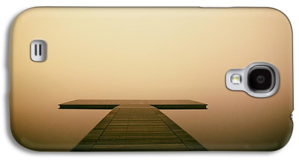 Wooden Platform Galaxy S4 Cases - The Endless Search Galaxy S4 Case by Mountain Dreams