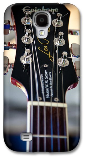 The Kingpins Galaxy S4 Cases - The Epiphone Les Paul Guitar Galaxy S4 Case by David Patterson