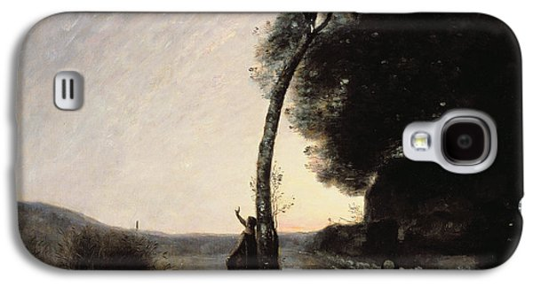 The Evening Star Galaxy S4 Case by Jean Baptiste Camille Corot