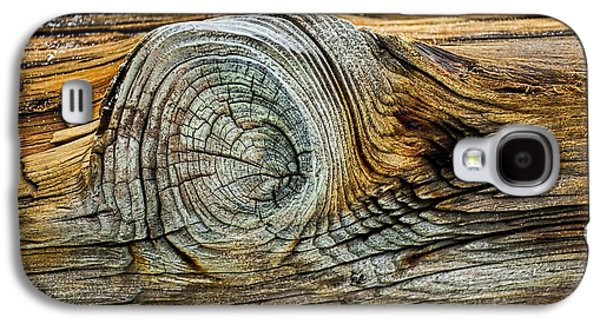 Abstract Nature Galaxy S4 Cases - The Eye in the Wood Galaxy S4 Case by Norman Gabitzsch