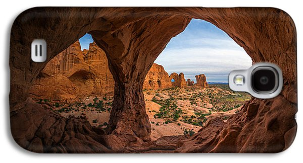 Southern Utah Galaxy S4 Cases - The Eyes of the Mountain Galaxy S4 Case by Dustin  LeFevre