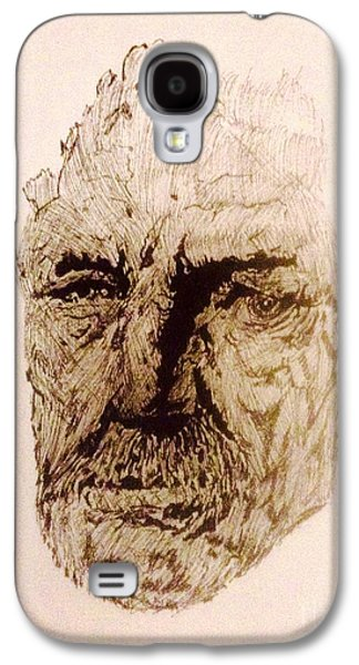 The Face Galaxy S4 Case by Franky A HICKS